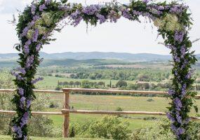 bloemenboog - funkybird - wedding design
