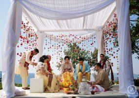Indiaas huwelijk- funkybird - wedding design -bloemist in toscane