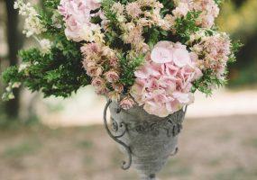 trouwen in toscane - bloemen bij ceremonie - funkybird - bloemist in toscane
